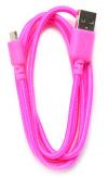 Καλώδιο σύνδεσης Κορδόνι Ancus USB σε Micro USB Ρόζ