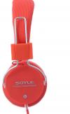 Ακουστικά Soyle SY-980TV stereo Headphones 5M ΚΟΚΚΙΝΟ(OEM)