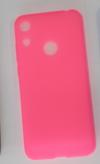 Θήκη Ultra Thin TPU GEL για  Honor 8A (2019) / Huawei Y6 (2019) σε ροζ fluo χρώμα (OEM)