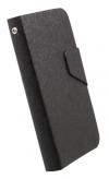 Δερμάτινη Stand Θήκη/Πορτοφόλι για Alcatel One Touch Pop C5 (OT-5036D) Μαύρο (OEM)