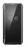 Θήκη Βιβλιο  Clear View για Xiaomi Redmi 9 Μαυρο (OEM)