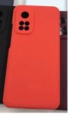 Θήκη ματ TPU σιλικονη μαλακή πίσω κάλυμμα για XIAOMI Mi 10T / 10T Pro Κοκκινο Ανοιχτο  (oem)