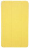 Δερμάτινη Θήκη με πίσω πλάτη σιλικόνης για το Samsung Galaxy Tab Pro 8.4 SM-T320 T325  ΚΙΤΡΙΝΟ (ΟΕΜ)