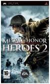 PSP GAME - MEDAL OF HONOR HEROES 2 (MTX)