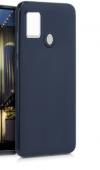 Θήκη ματ tpu σιλικονη μαλακή πίσω κάλυμμα για Samsung Galaxy M31 - σκουρο μπλε χρωμα  (oem)