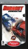 PSP GAME - Burnout Dominator Platinum (MTX)