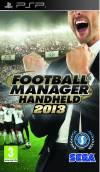PSP GAME - Football Manager 2013
