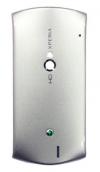 Sony Ericsson Xperia Neo V MT15i MT11i  πίσω καπάκι μπαταρίας Ασημί