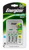 ΦΟΡΤΙΣΤΗΣ ΜΠΑΤΑΡΙΩΝ ENERGIZER MAXI KIT, με 4 AA μπαταρίες ΔΩΡΟ SAP 635045