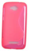 Θήκη TPU GEL S-Line για Alcatel One Touch Pop C7 (OT-7041D) Ρόζ (ΟΕΜ)