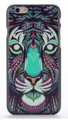 "Apple iPhone 6 4.7"" - Θήκη Πλαστικό Πίσω Κάλυμμα Aztec Animal Tiger Black (ΟΕΜ)"