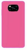 Θήκη ματ tpu σιλικονη μαλακή πίσω κάλυμμα για XIAOMI POCO X3 ροζ  (oem)