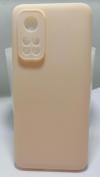 Θήκη ματ TPU σιλικονη μαλακή πίσω κάλυμμα για XIAOMI Mi 10T / 10T Pro Απολο ροδακινι   (oem)
