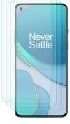 OnePlus  8T - Προστατευτικό Οθόνης Full Cover Tempered Glass 9Η Μαυρο (ΟΕΜ)