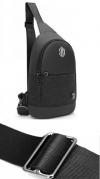 ARCTIC HUNTER τσάντα Crossbody XB00064-BK, αδιάβροχη, μαύρη