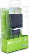 Φορτιστής Ταξιδίου Hoco C42A Vast Power Single USB QC3.0 18W - Μαύρος