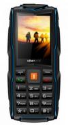 VKWorld New Stone V3 - Τριπλή SIM Ανθεκτικό Κινητό Μαύρο/Μπλέ (ελληνικό μενού)