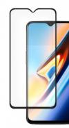 Προστατευτικό Οθόνης Tempered Glass Full Cover για OnePlus 6T +  OnePlus 7 ΜΑΥΡΟ (OEM)