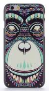 "Apple iPhone 6 4.7"" - Θήκη Πλαστικό Πίσω Κάλυμμα Aztec Animal Orangutan Black (ΟΕΜ)"