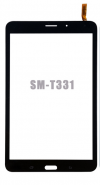Samsung Galaxy Tab 4 8.0 Wifi Version SM-T330  SM-T331 Digitizer ΜΑΥΡΟ