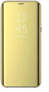 Θήκη Clear View για Xiaomi Redmi note 8 pro - ΧΡΥΣΗ (OEM)