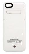 Μπαταρία Ενσωματωμένη σε Θήκη Faceplate Apple iPhone 5C Λευκό 2500mAh