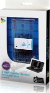 Playfect - 5 Σετ υψηλής ποιότητας screen protector για το 3DS