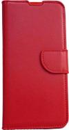 Δερμάτινη Θήκη Βιβλίο με κούμπωμα Για Xiaomi Redmi Note 8 - Κόκκινο (OEM)