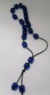 Κομπολόϊ  Με Χαντρες Μπλε (ΟΕΜ)
