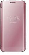 Θήκη Clear View για Xiaomi Redmi note 8 pro - ΡΟΖ (OEM)
