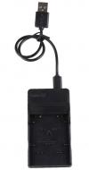 USB Φορτιστής μπαταρίας φωτογραφικής Canon NB-2L (OEM)