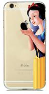 """Σκληρή Θήκη Σιλικόνης για Iphone 7/8 Διάφανη """"Χιονάτη"""" (OEM)"""