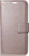 Δερμάτινη Θήκη Πορτοφόλι με κούμπωμα για Xiaomi Redmi Mi 9T / Pro - Χρυσό (oem)
