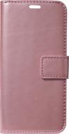 Δερμάτινη Θήκη Πορτοφόλι με κούμπωμα για Xiaomi Redmi Mi 9T / Pro - Ροζ Χρυσό (oem)