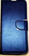 Δερμάτινη Θήκη Βιβλίο με κούμπωμα Για Xiaomi Redmi Note 8 Pro - Σκούρο Μπλε (OEM)
