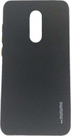 Motomo Thin Matte TPU Case for Xiaomi Redmi Note 4x - Μαύρο (OEM)