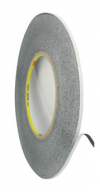 3M 0.5 cm Roll of adhesive black tape 30m strong double sided for digitizers, frames and etc