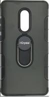 Θήκη πλάτης με στήριγμα i-Crystal back case with stand για το Xiaomi NOTE 4 Μαύρο (OEM)
