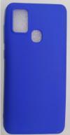 Θήκη Σιλικόνης για Samsung A21S  Μπλε (ΟΕΜ)