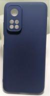 Θήκη ματ TPU σιλικονη μαλακή πίσω κάλυμμα για XIAOMI Mi 10T / 10T Pro μπλε σκουρο   (oem)