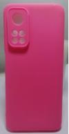 Θήκη ματ TPU σιλικονη μαλακή πίσω κάλυμμα για XIAOMI Mi 10T / 10T Pro ροζ  (oem)