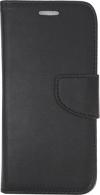 Samsung Galaxy J3 2017 Θήκη Book Wallet Δερματίνης με κούμπωμα - Μαύρο
