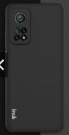 Θήκη ματ TPU σιλικονη μαλακή πίσω κάλυμμα για XIAOMI Mi 10T / 10T Pro μαυρη  (oem)