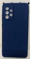 EΥΚΑΜΠΤΗ TPU ΘΗΚΗ ΠΙΣΩ ΠΛΑΤΗ  για Samsung A52 5G -  Σκουρο Μπλε  (ΟΕΜ)