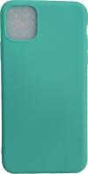 """Θήκη Σιλικόνης TPU Back Cover Για Apple iPhone 11 6.1"""" Τιρκουαζ Matt (ΟΕΜ)"""