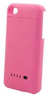 Μπαταρία Ενσωματωμένη σε Θήκη Faceplate Apple iPhone 4/4S Ροζ 1900mAh