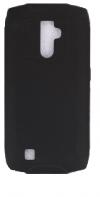 Θήκη σιλικόνης πίσω πλάτη για Blackview BV6800 Pro Μαύρο (BULK) (OEM)