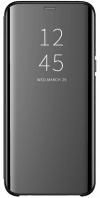 Θήκη Clear View για Xiaomi Redmi note 8 pro - ΜΑΥΡΟ (OEM)