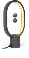 Allocacoc Heng Balance Mini Plastic Lamp Ellipse Φωτιστικό με Διακόπτη από Μαγνήτες - Dark Grey