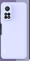 Θήκη ματ TPU σιλικονη μαλακή πίσω κάλυμμα για XIAOMI Mi 10T / 10T Pro σιελ  (oem)